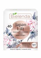 Bielenda - Japan Lift - Przeciwzmarszczkowy krem nawilżający do twarzy - Dzień - SPF6 - 40+ - 50ml