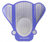 NeoNail - Nail Art Form - Szerokie szablony do przedłużania paznokci - Motyl - 100 sztuk