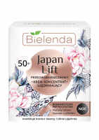 Bielenda - Japan Lift - Anti-wrinkle face firming cream / concentrate - Night - 50+ - 50 ml