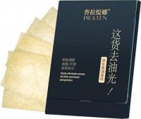 PILATEN - Face matting papers - Black - 100 pieces