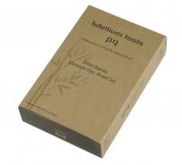 Bdellium tools - Green Bambu Series - Complete 15pc. Brush Set - Zestaw 15 pędzli w etui
