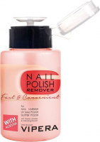 VIPERA - Nail Polish Remover Fast & Convenient - Acetone nail polish remover - White tea - 175 ml