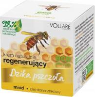 VOLLARE - Wild bee - Naturally regenerating face cream - honey, sunflower oil - 50ml