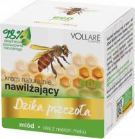 VOLLARE - Wild Bee - Naturally moisturizing face cream - honey, poppy seed oil - 50ml