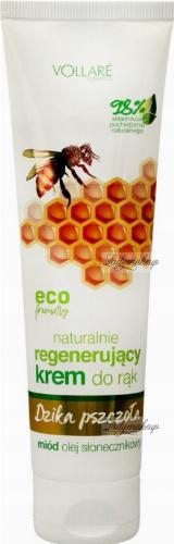 VOLLARE - Dzika Pszczoła - Naturalny, regenerujący krem do rąk - 100 ml