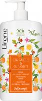 Lirene - Delikatne mydło pod prysznic i do kąpieli - Pomarańcza i Imbir - 500 ml