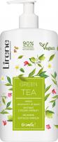 Lirene - Delikatne mydło pod prysznic i do kąpieli - Zielona Herbata - 500 ml