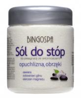 BINGOSPA - Anti-swelling foot salt - 550g