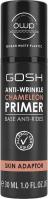 GOSH - ANTI-WRINKLE CHAMELEON PRIMER - Anti-wrinkle make-up base - 001 Skin Adapter - 30ml