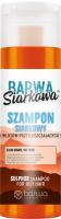 BARWA - BARWA SIARKOWA -  SULPHUR SHAMPOO FOR OILY HAIR - Sulfur shampoo for oily hair - 180 ml