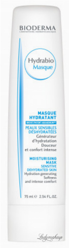 BIODERMA - Hydrabio Moisturising Mask - Intensively moisturizing mask for dehydrated and sensitive skin - 75 ml