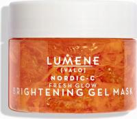 LUMENE - VALO - NORDIC C BRIGHTENING GEL MASK - Illuminating face gel mask - 150 ml