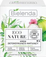 Bielenda - ECO NATURE - DETOXIFYING & MATTIFYING FACE CREAM - Detoxifying and matting face cream (combination and oily skin) - 50 ml
