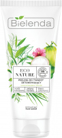Bielenda - ECO NATURE - DETOXIFYING FACE SCRUB - Detoxifying face peeling (combination and oily skin) - 150 g