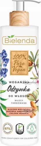 Bielenda - 100% Pure Vegan - CONDITIONER FOR COLORED HAIR - Vegan conditioner for colored hair - 240 ml