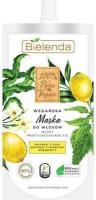 Bielenda - 100% Pure Vegan - MASK FOR GREASY HAIR - Vegan mask for greasy hair with yuzu extract - 125 ml