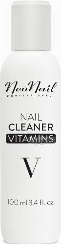 NeoNail - NAIL CLEANER VITAMINS - Odtłuszczacz do paznokci z witaminami - 100 ml