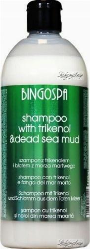 BINGOSPA - SHAMPOO WITH TRIKENOL - Shampoo with trikenol and Dead Sea mud - 500 ml