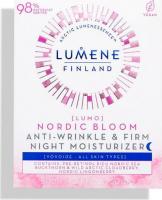 LUMENE - LUMO - NORDIC BLOOM ANTI-WRINKLE & FIRM NIGHT MOISTURIZER - Przeciwzmarszczkowo-ujędrniający krem do twarzy - Noc - 50 ml