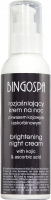BINGOSPA - Brightening Night Cream - Brightening night face cream with kojic and ascorbic acid - 135 g