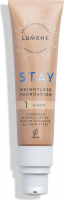 LUMENE - STAY WEIGHTLESS FOUNDATION - Light, long-lasting face foundation - SPF 30 - 30 ml