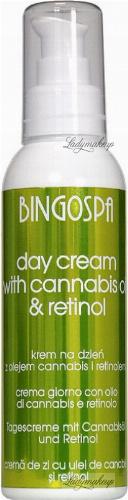 BINGOSPA - DAY CREAM - Face cream with hemp oil and retinol - Day - 135 g