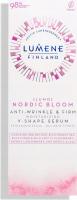 LUMENE - LUMO - NORDIC BLOOM ANTI-WRINKLE & FIRM MOISTURIZING V-SHAPE SERUM - Anti-wrinkle-firming face serum - 30 ml
