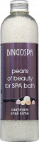 BINGOSPA - Pearls of Beauty - SPA bath pearls with cashmere proteins and snail slime - 230 g