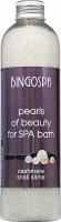 BINGOSPA - Pearls of Beauty - Perełki do kąpieli SPA z proteinami kaszmiru i śluzem ślimaka - 230 g