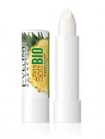 Eveline Cosmetics - EXTRA SOFT BIO - Ochronny balsam do popękanej skóry ust - Ananas - 4 g