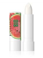 Eveline Cosmetics - EXTRA SOFT BIO - Nawilżający balsam do suchej skóry ust - Arbuz - 4 g