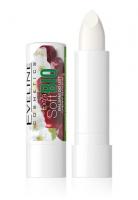 Eveline Cosmetics - EXTRA SOFT BIO - Regenerujący balsam do spierzchniętej skóry ust - Kwiat Wiśni - 4 g