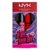 NYX Professional Makeup - 2 ME, LUV ME LIP GLOSS DUO - Zestaw 2 błyszczyków do ust - 01