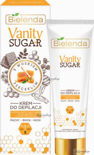 Bielenda - Vanity Sugar - Hair Removal Cream - Hair removal cream for armpits, bikini and legs - 100 ml