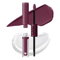 NYX Professional Makeup - SHINE LOUD HIGH PIGMENT LIP SHINE - Płynna, dwustronna pomadka do ust - 6.8 ml - MAKE IT WORK - MAKE IT WORK