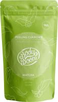 BodyBoom - Anti-cellulite and stimulating body sugar peeling - MATCHA - 100 g