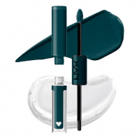 NYX Professional Makeup - SHINE LOUD HIGH PIGMENT LIP SHINE - Płynna, dwustronna pomadka do ust - 6.8 ml - TAUGHT MILLIONAIRE - TAUGHT MILLIONAIRE