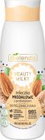 Bielenda - BEAUTY MILKY - Regenerating Almond Body Milk - Mleczko migdałowe z prebiotykiem do pielęgnacji ciała - 400 ml