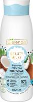 Bielenda - BEAUTY MILK - Moisturizing Coconut Shower & Bath Milk - Kremowe mleczko kokosowe z prebiotykiem do kąpieli i pod prysznic - 400 ml