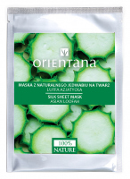 ORIENTANA - Natural silk face mask - Asian Luffa