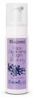 Nacomi - Face Cleansing Foam Blueberry - Oczyszczająca pianka do mycia twarzy - Borówka - 150 ml