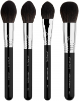 Sigma® - STUDIO BRUSH SET - 4 PREMIUM FACE BRUSHES - Set of 4 brushes for face makeup