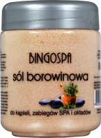 BINGOSPA - Peat bath salt - 600 g