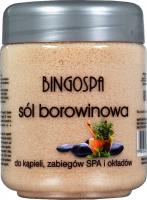 BINGOSPA - Sól borowinowa do kąpieli - 600 g