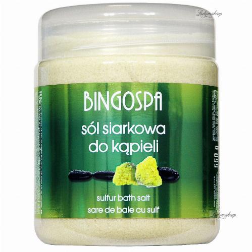 BINGOSPA - Sulfur Bath Salt - Sulfur Bath Salt - 550 g