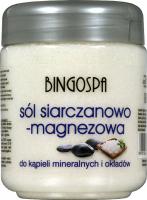 BINGOSPA - Salt And Magnesium Sulphate - Sól siarczanowo-magnezowa do kąpieli mineralnych i okładów -  600 g