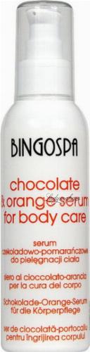 BINGOSPA - Chocolate & Orange Serum - Chocolate-orange body care serum - 135 g