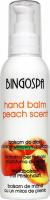 BINGOSPA - Hand Balm Peach Scent - Hand balm with peach scent - 135 g