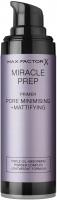 Max Factor - MIRACLE PREP PRIMER - PORE MINIMISING + MATTIFYING - Mattifying make-up base - 30 ml
