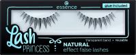 Essence - Lash Princess Natural Effect False Lashes - Sztuczne rzęsy na pasku z klejem